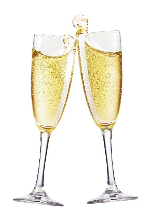 Сделать, картинки бокалы с шампанским на прозрачном фоне